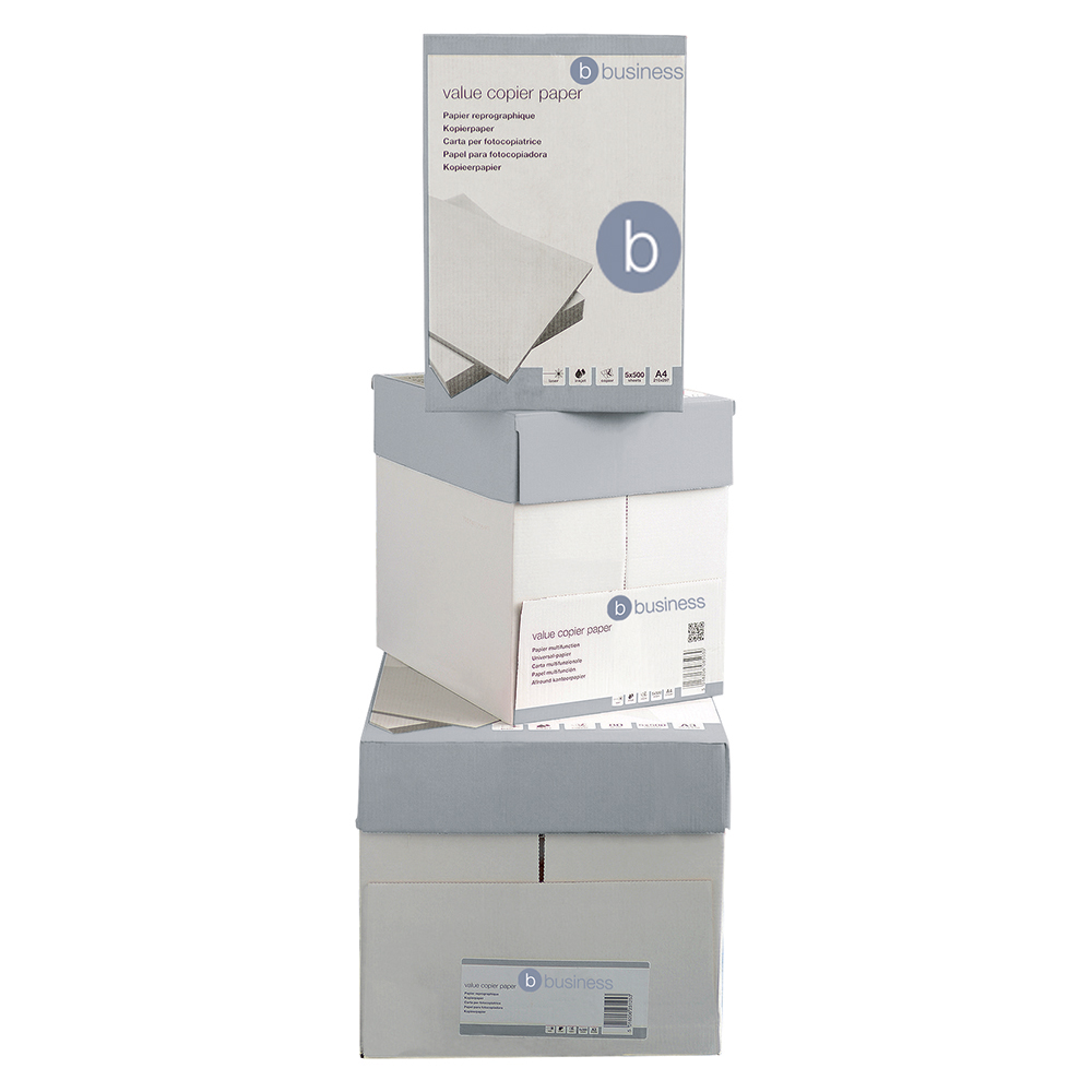 Business Value Copier Paper A4 White (Ream of 500 Sheets)