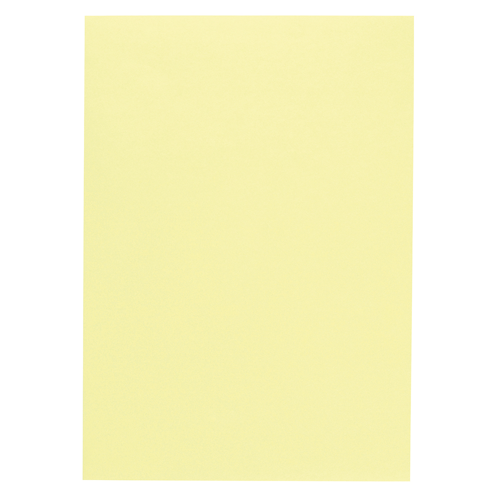 Business Coloured Copier Paper 80gsm A3 Light Yellow (Ream of 500 Sheets)