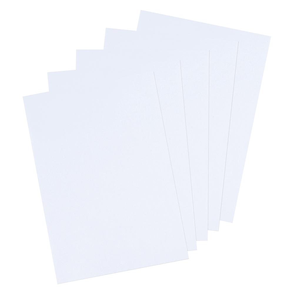 Business Coloured Card 160gsm A4 White (Ream of 250 Sheets)