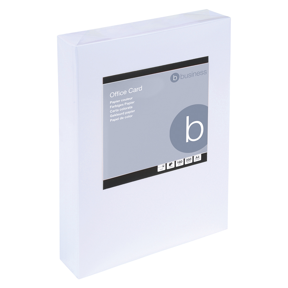 Business White 160gsm A4 Card Ream of 250