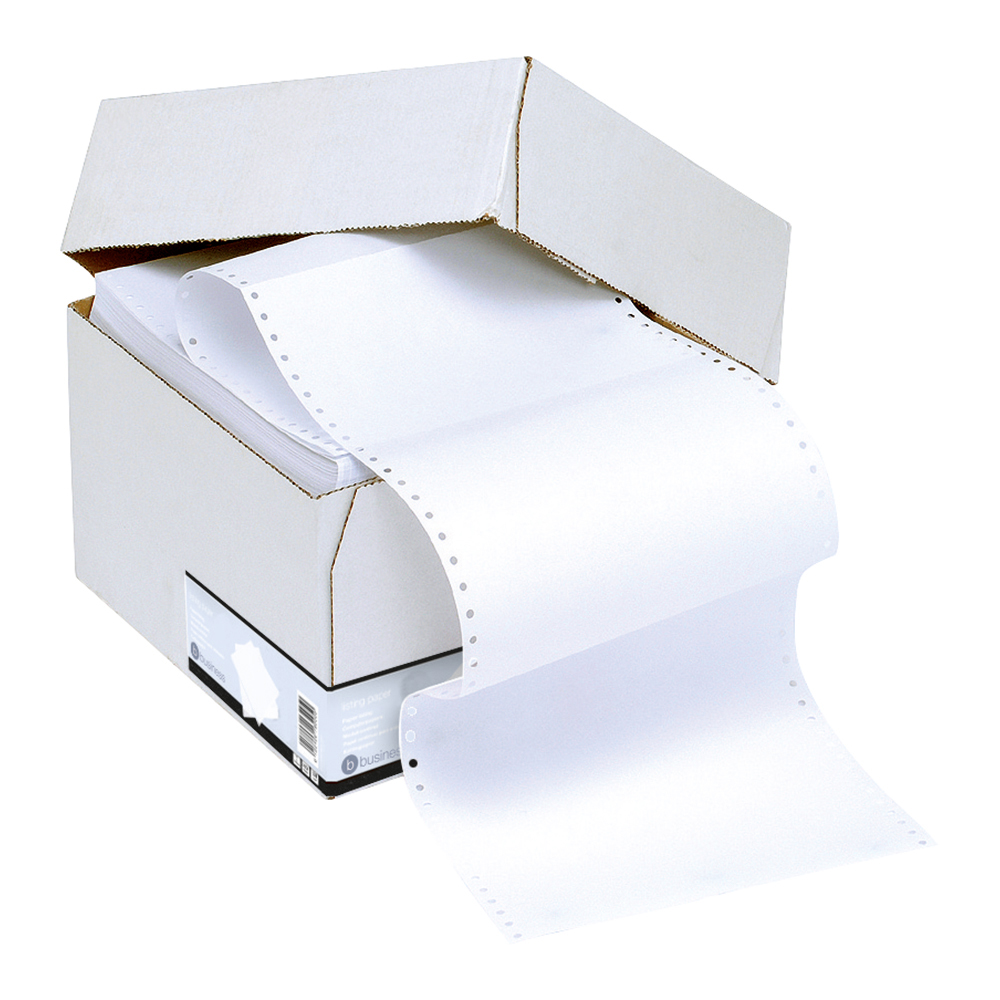 Business Office Listing Paper 1-Part 60gsm 11inchx368mm Ruled 2000 Sheets