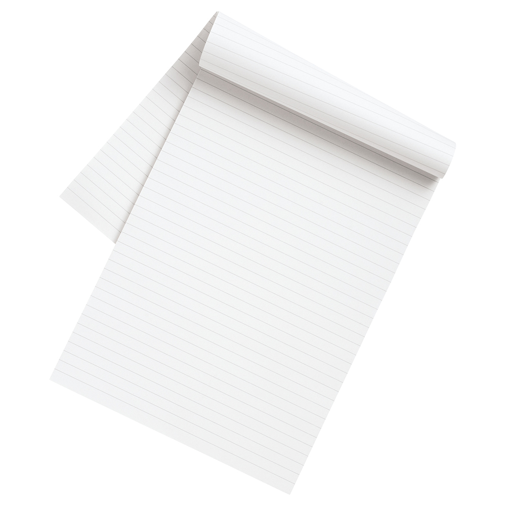 Business Eco Memo Pad 160 70gsm Ruled Pages A4 (Pack of 10)