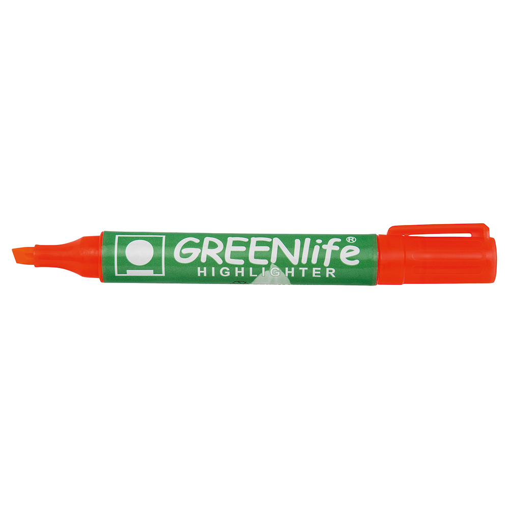 Business Eco Highlighter Chisel Tip 1-5mm Line Orange Pack 10