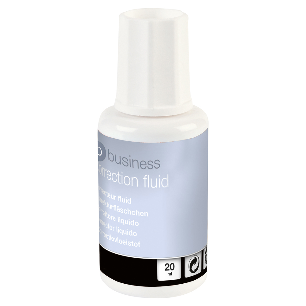 Business Correction Fluid Quick Drying 20ml (Pack of 10)