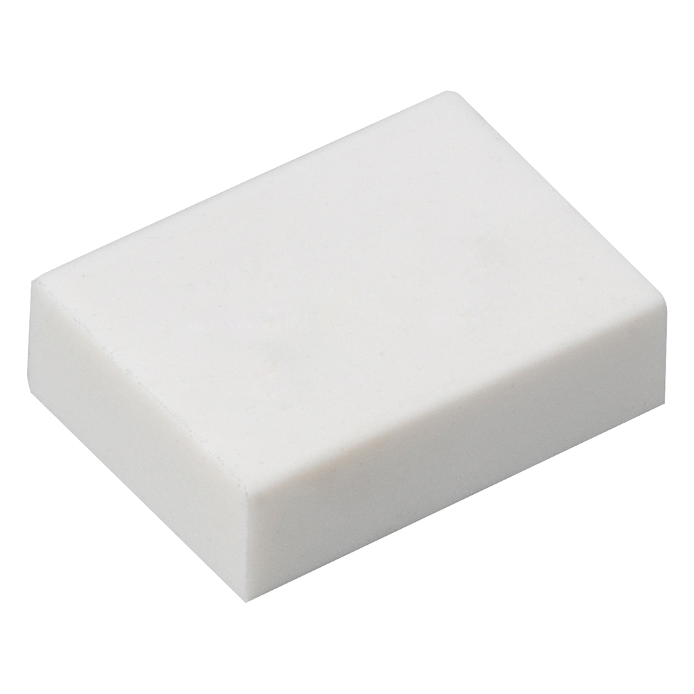Business Office White Eraser 33x23x10mm Pack 45