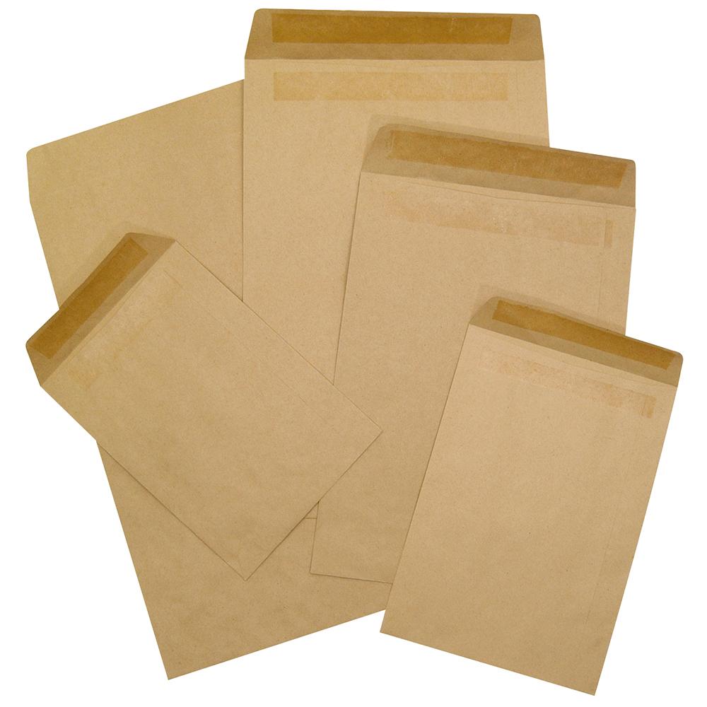 Business Office Envelopes FSC Pocket Self Seal 90gsm C5 229x162mm Manilla Pack 500