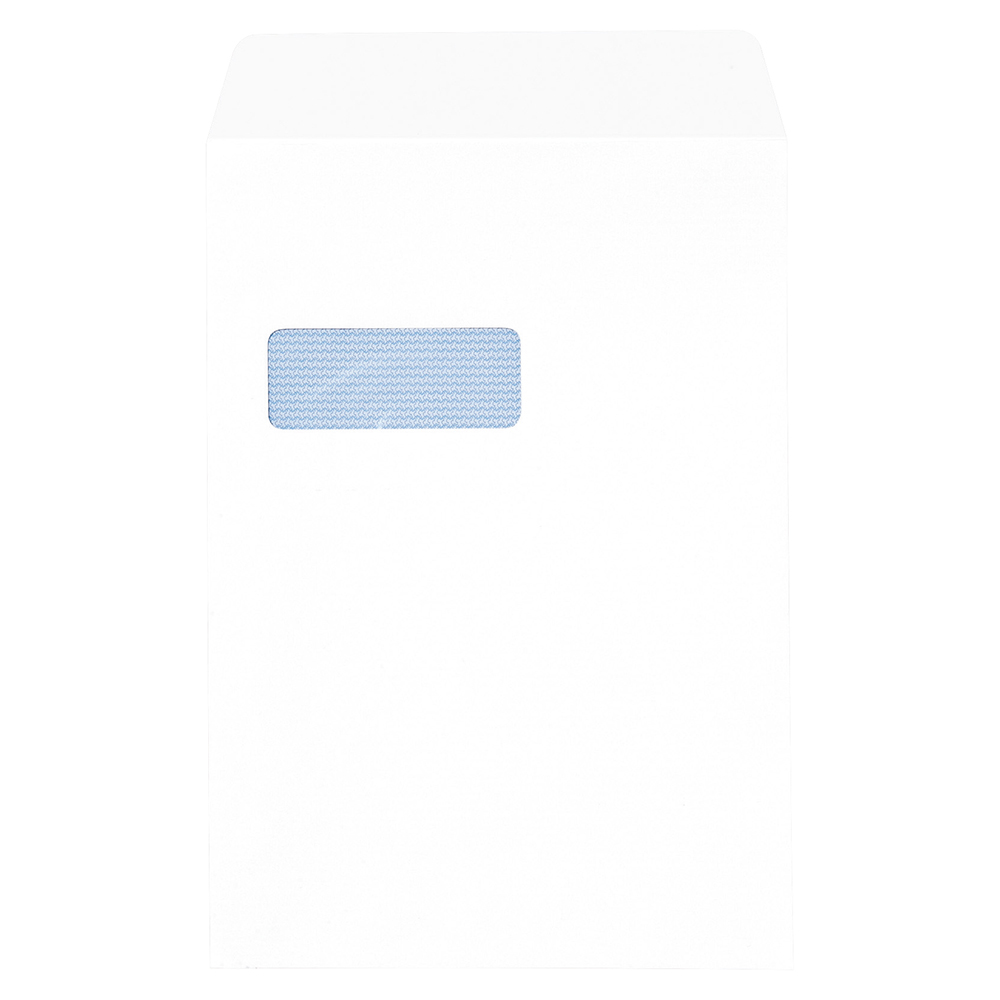 Business Pocket Window Envelopes C4 100gsm Peel and Seal White (Pack of 250)