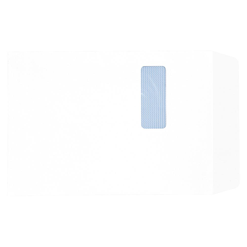Business Pocket Window Envelopes C4 90gsm Self Seal White (Pack of 250)