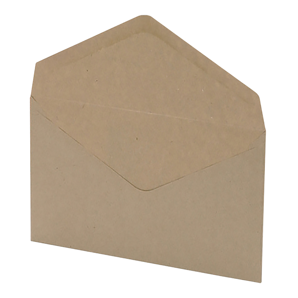 Business Wallet Envelopes C6 Lightweight 80gsm Gummed Manilla (Pack of 2000)