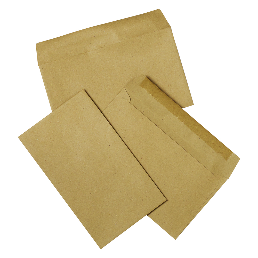 Business Wallet Envelopes 89 x 152mm Lightweight 75gsm Gummed Manilla (Pack of 2000)
