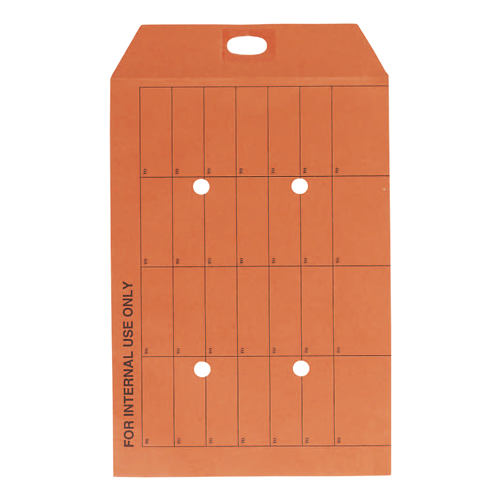 Business Office Envelopes Internal Mail Pocket Resealable 120gsm C4 324x229mm Manilla Orange Pack 250