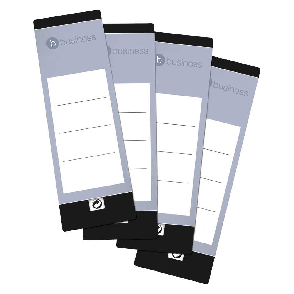 Business Spine Labels for Lever Arch Files 190 x 60mm (10 Labels)
