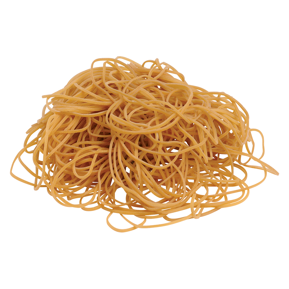 Business Office Rubber Bands No.18 Each 76x1.5mm Approx 1600 Bands Bag 0.454kg