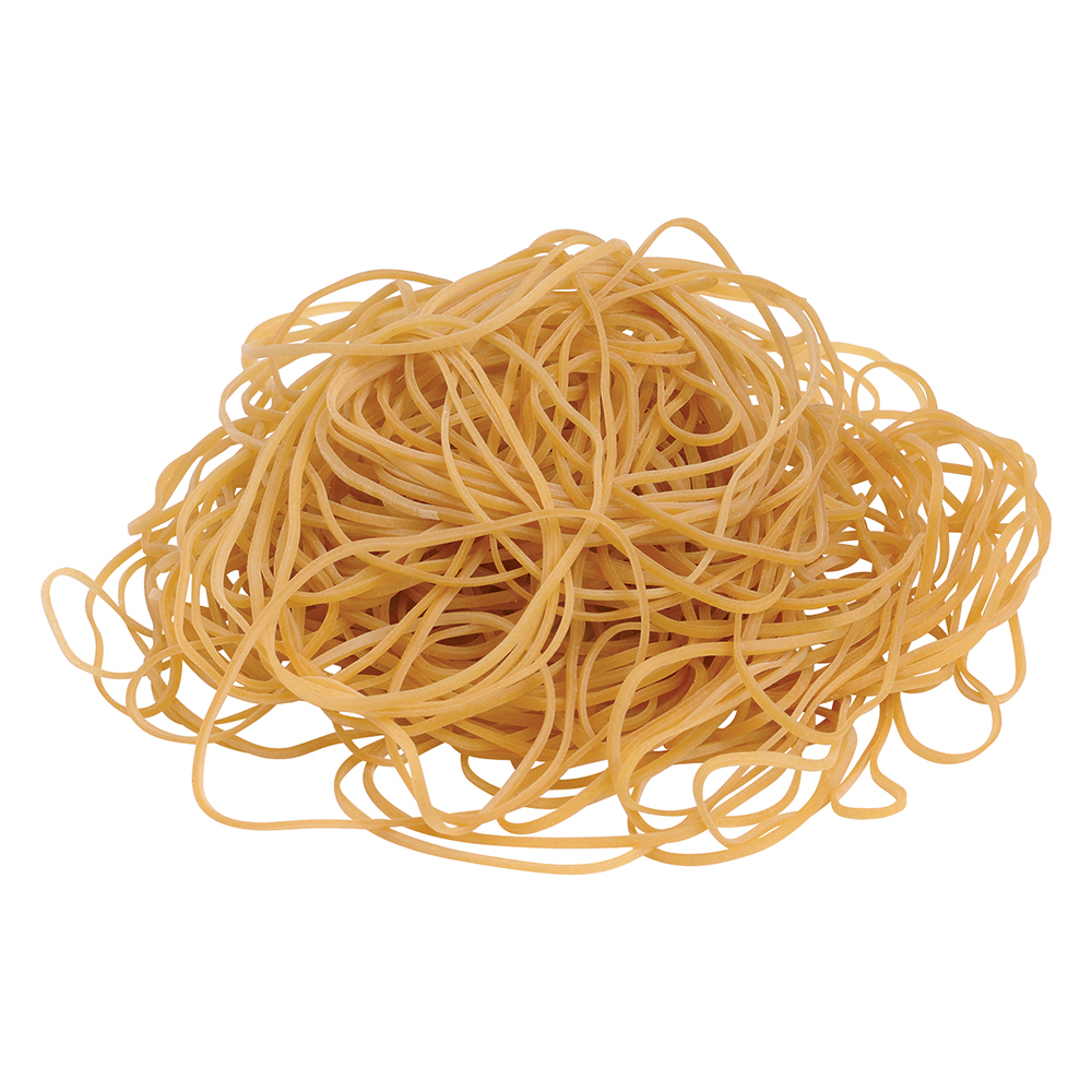 Business Office Rubber Bands No.19 Each 89x1.5mm Approx 1335 Bands Bag 0.454kg