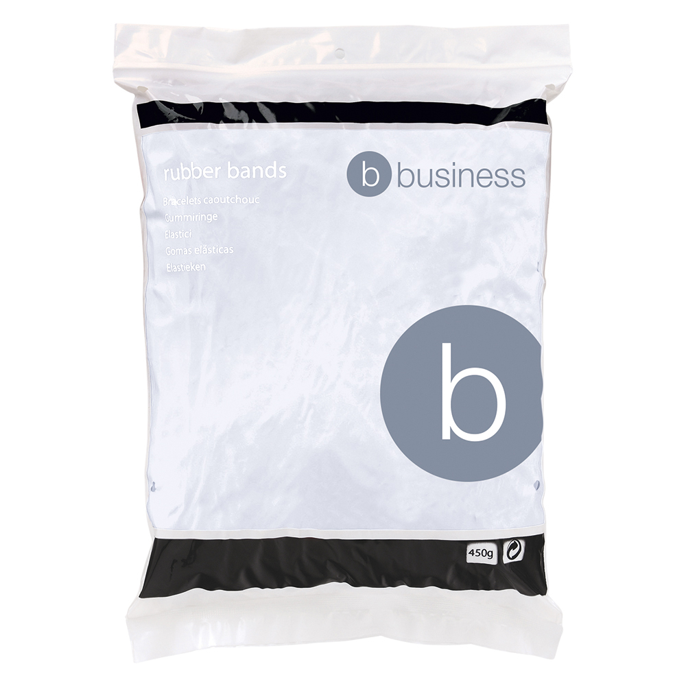 Business Rubber Bands No 36 127 x 3mm 454g (Approx 460 Bands)
