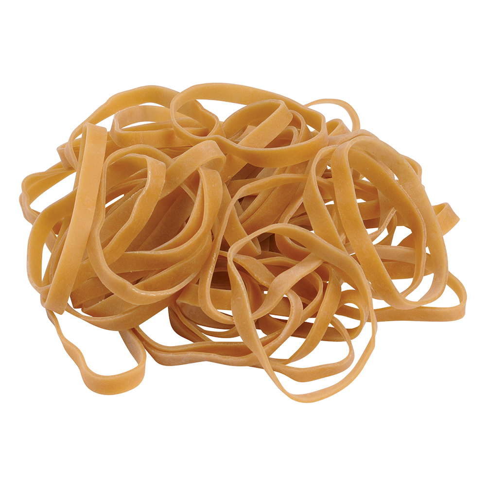 Business Office Rubber Bands No.63 Each 76x6mm Approx 400 Bands Bag 0.454kg