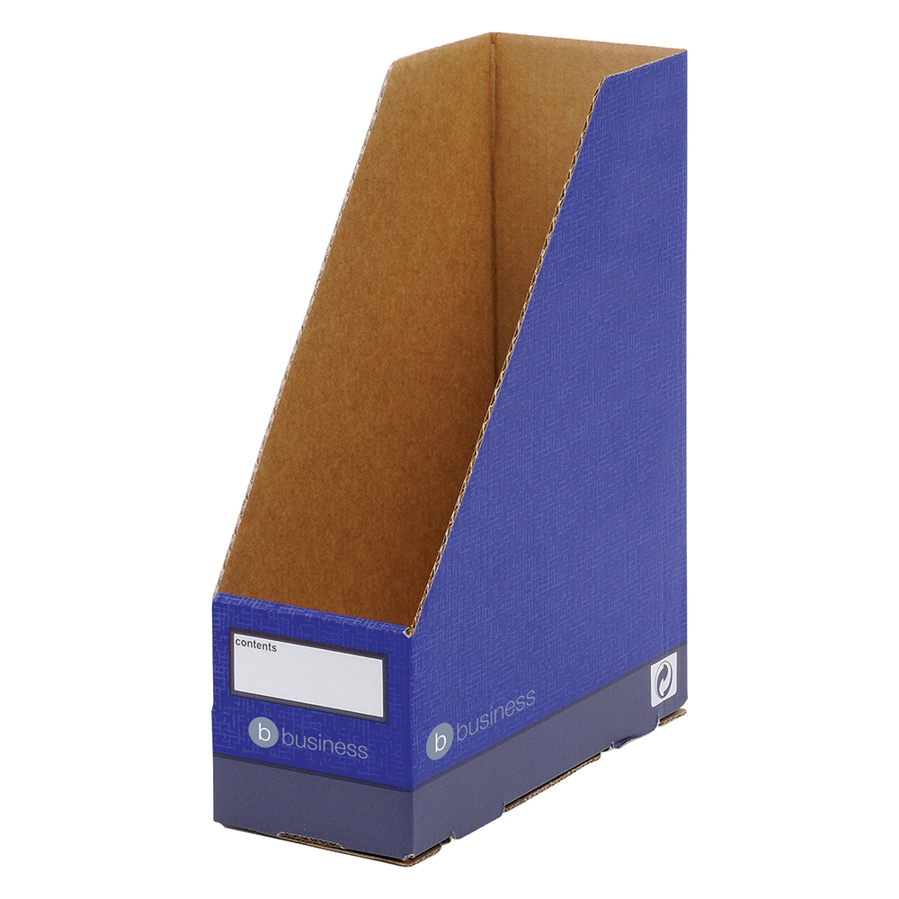 Business Premium Magazine Files A4+ Blue (Pack of 10)