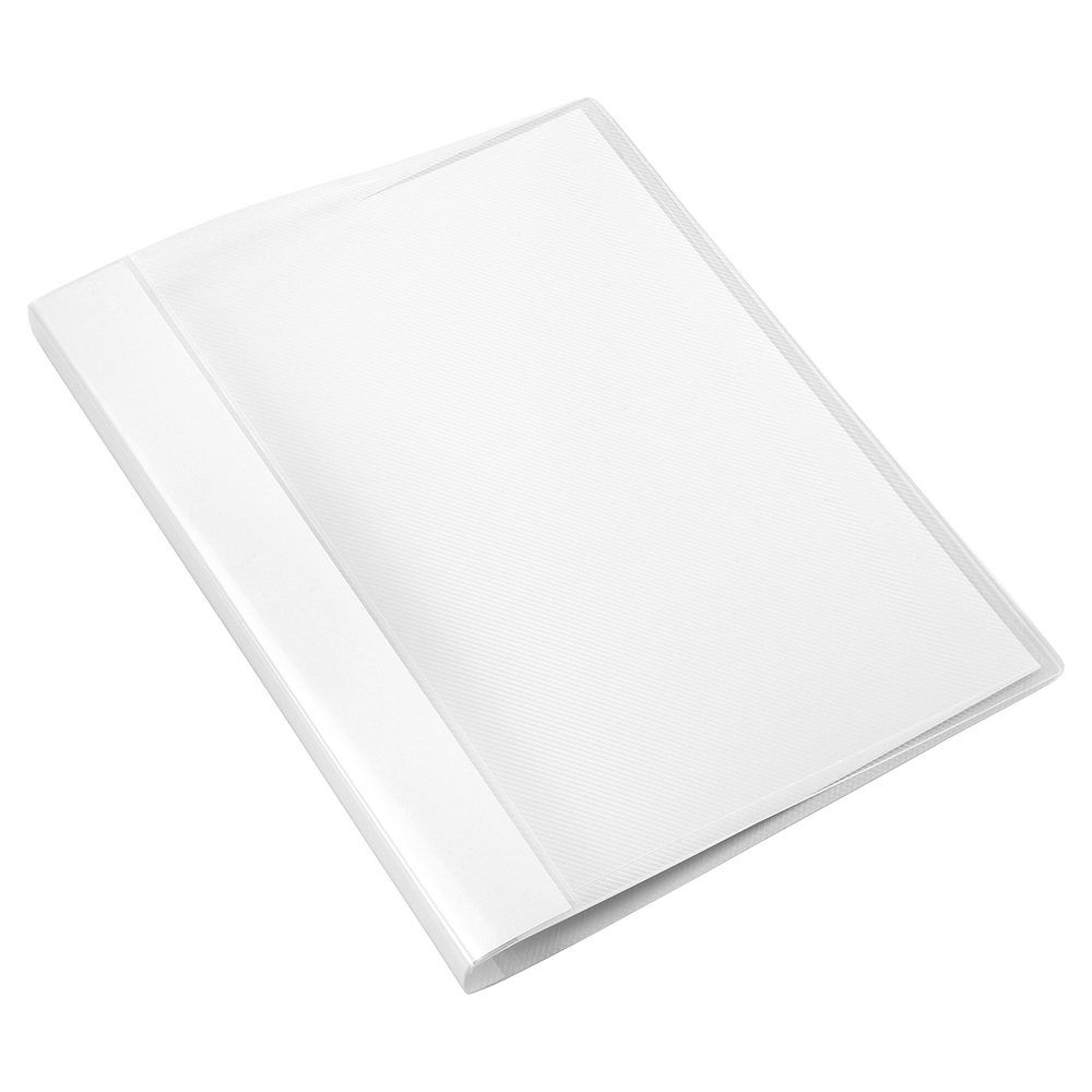 Business Clamp Binder Polypropylene A4 Clear (Pack of 10)