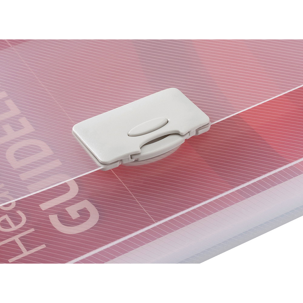 Business Document Box Polypropylene 30mm A4 Clear (Pack of 10)