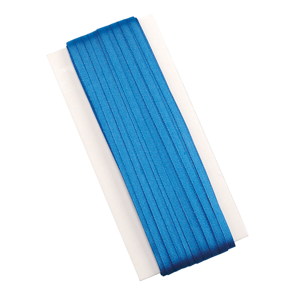 Business Legal Silk Braid 6mm x 50m Blue (Pack of 1)