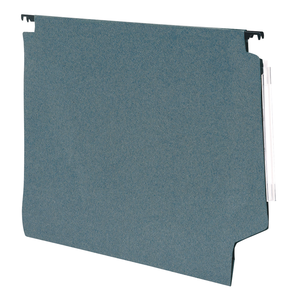 Business Office Lateral Suspension File Manilla 15mm V-base 180gsm Foolscap Green Pack 50