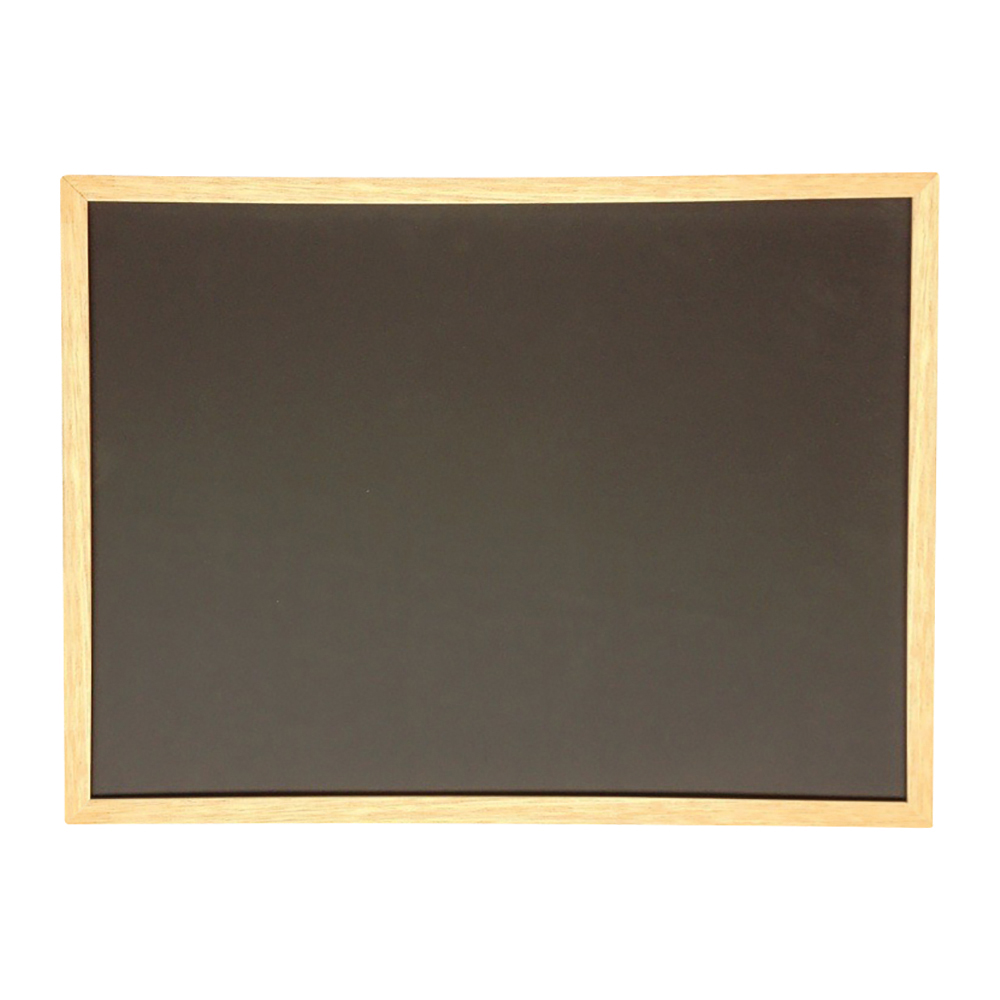 Business Chalkboard Wooden Frame 900 x 600mm Black (Pack of 1)
