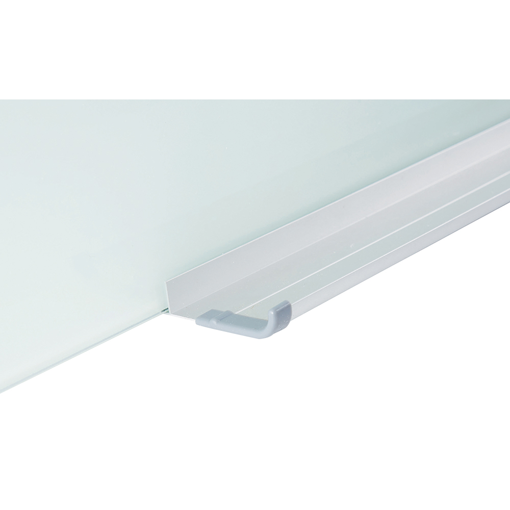 Business Magnetic Glass Board 1500 x 1000mm White (Pack of 1)