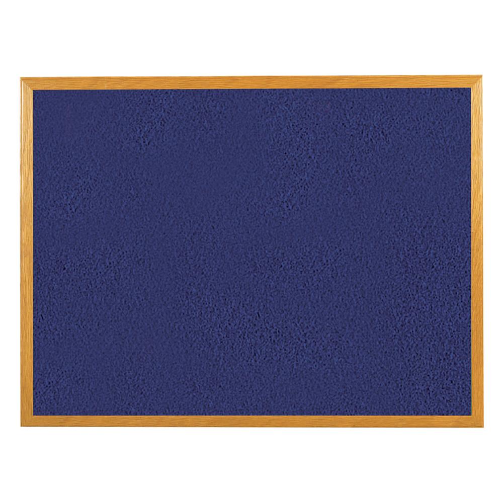 Business Blue 1200x900 Felt Noticeboard