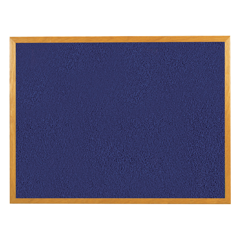 Business Blue 1800x1200mm Felt Noticeboard