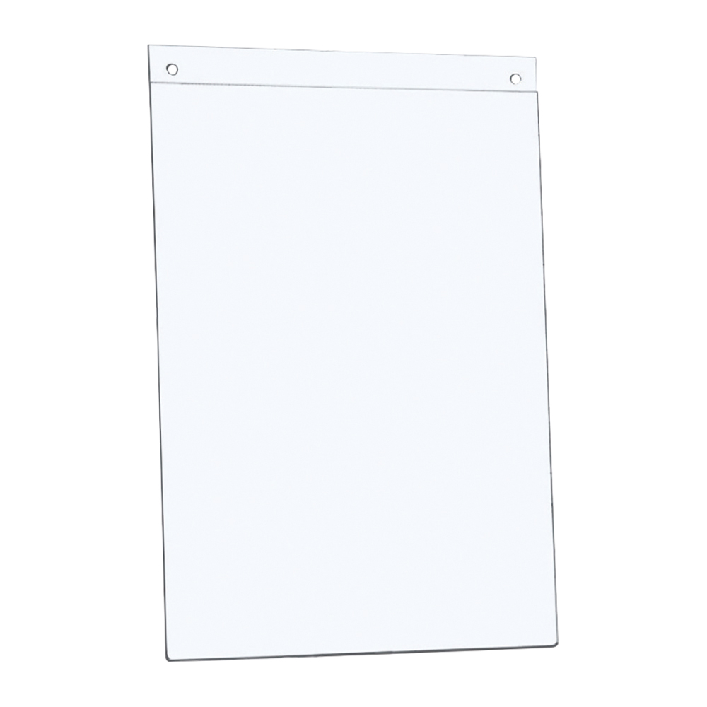 Business Office Sign Holder Wall Display Portrait A4 Clear