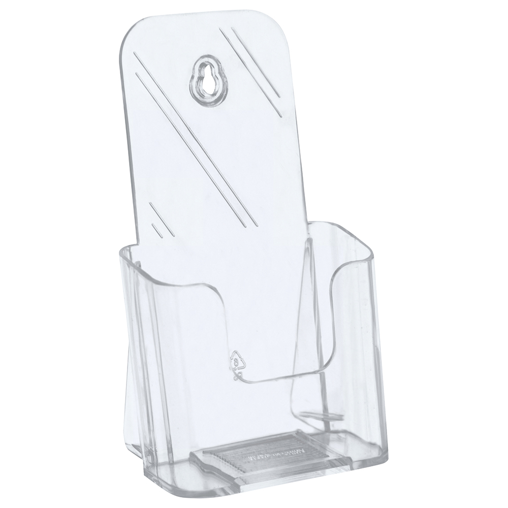 Business Slanted Literature Holder A4 Clear (Pack of 1)