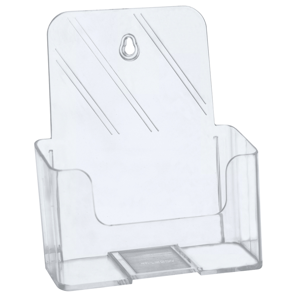 Business Slanted Literature Holder A5 Clear (Pack of 1)