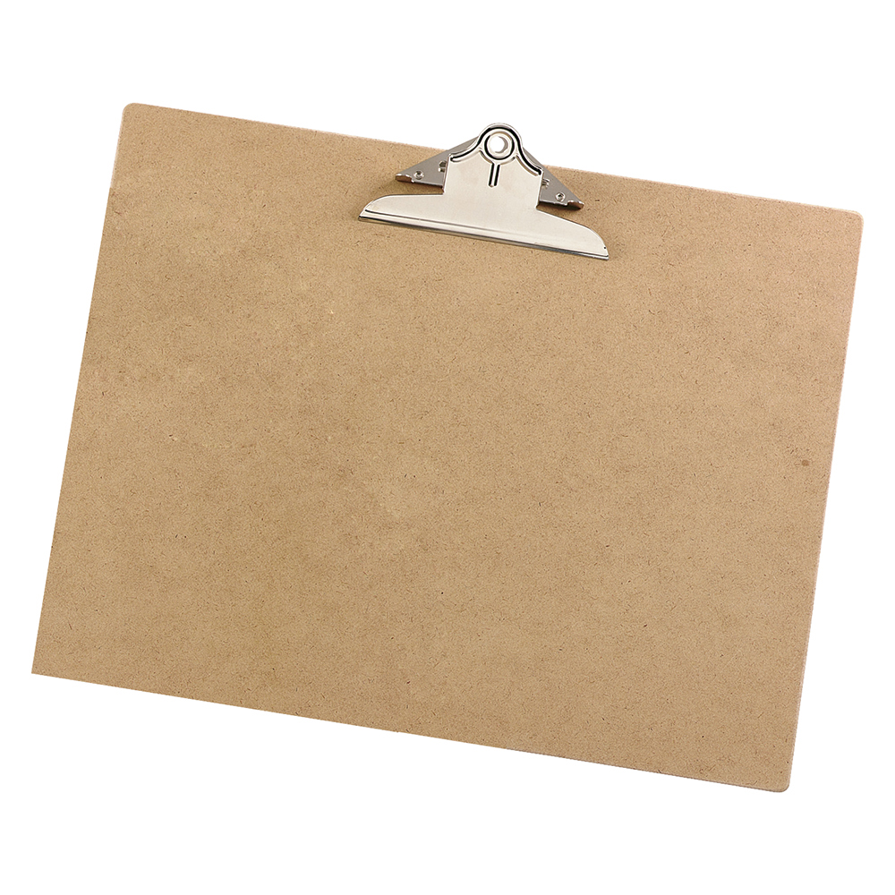 Business Office Clipboard Rigid Hardboard A3