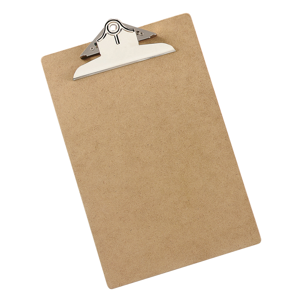 Business Rigid Hardboard Clipboard Portrait Foolscap (Pack of 1)