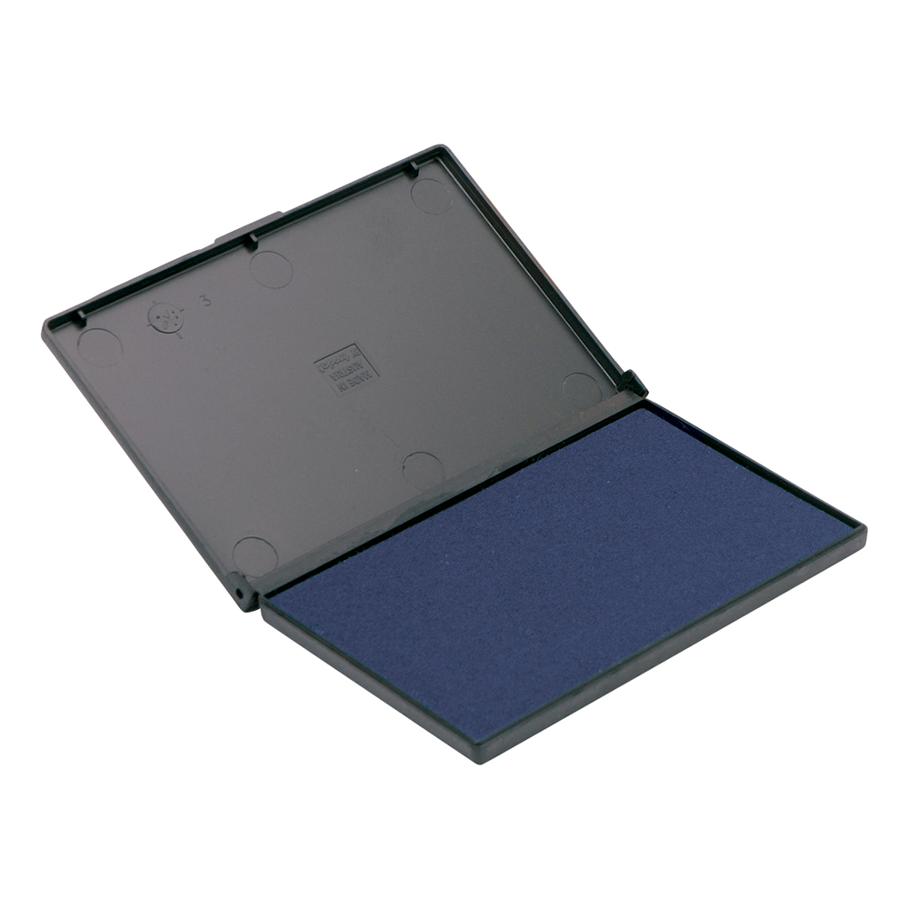 Business Office Stamp Pad 158x90mm Blue