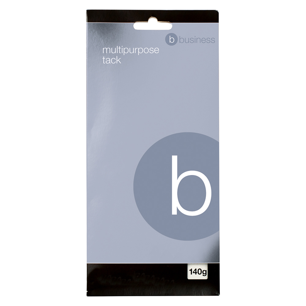 Business Multipurpose Adhesive Tack Re-usable 140g Blue (Pack of 12)