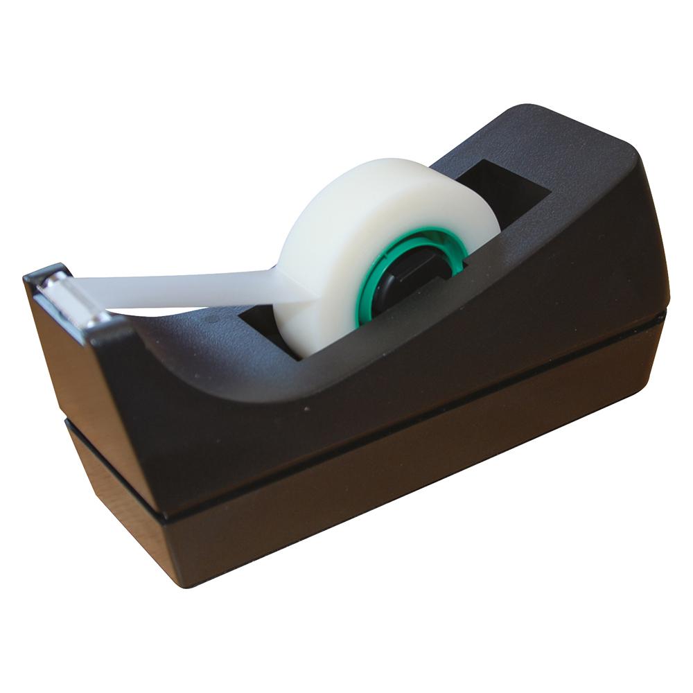 Business Desktop Tape Dispenser Small Black (Pack of 1)