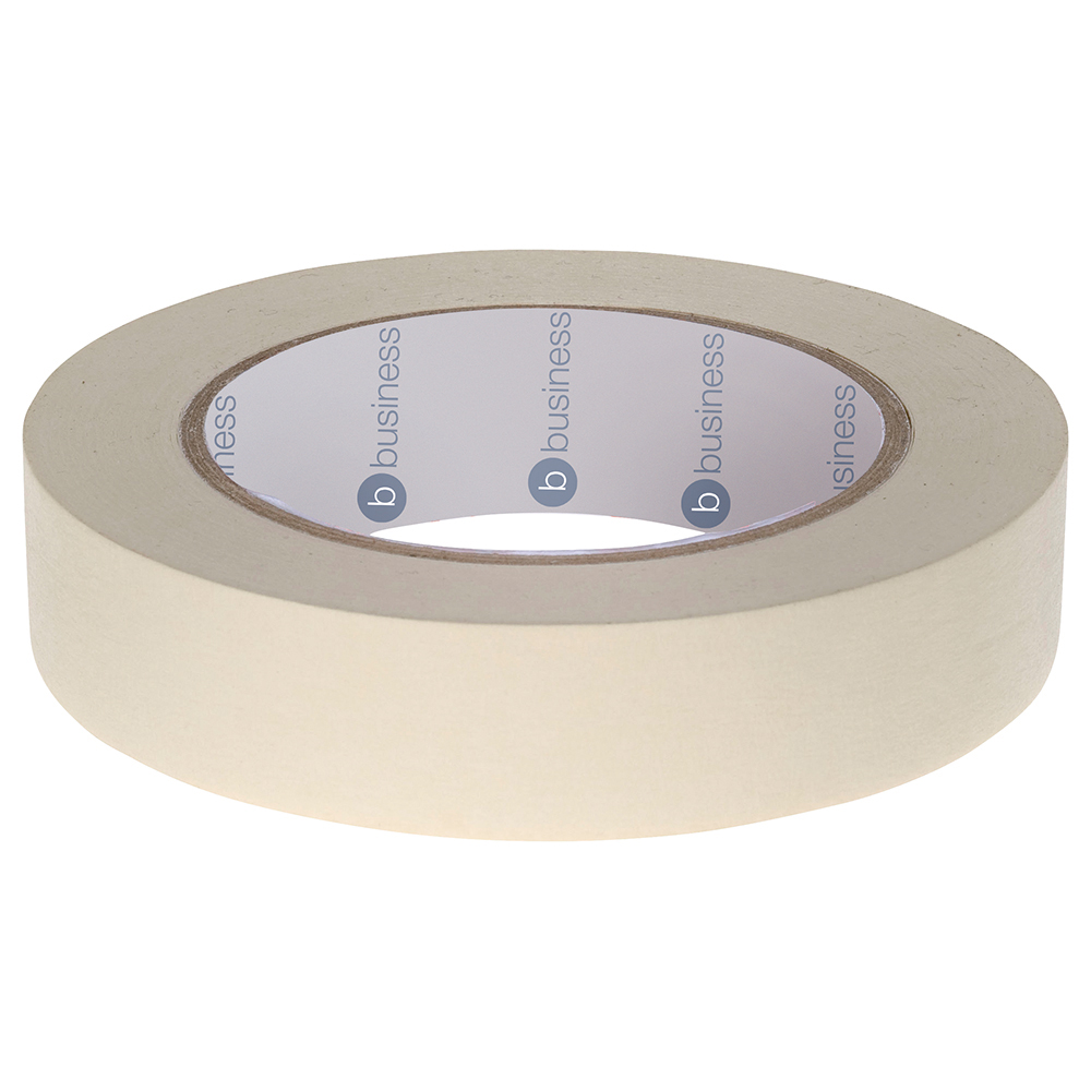 Business Masking Tape 25mm x 25m (Pack of 6)