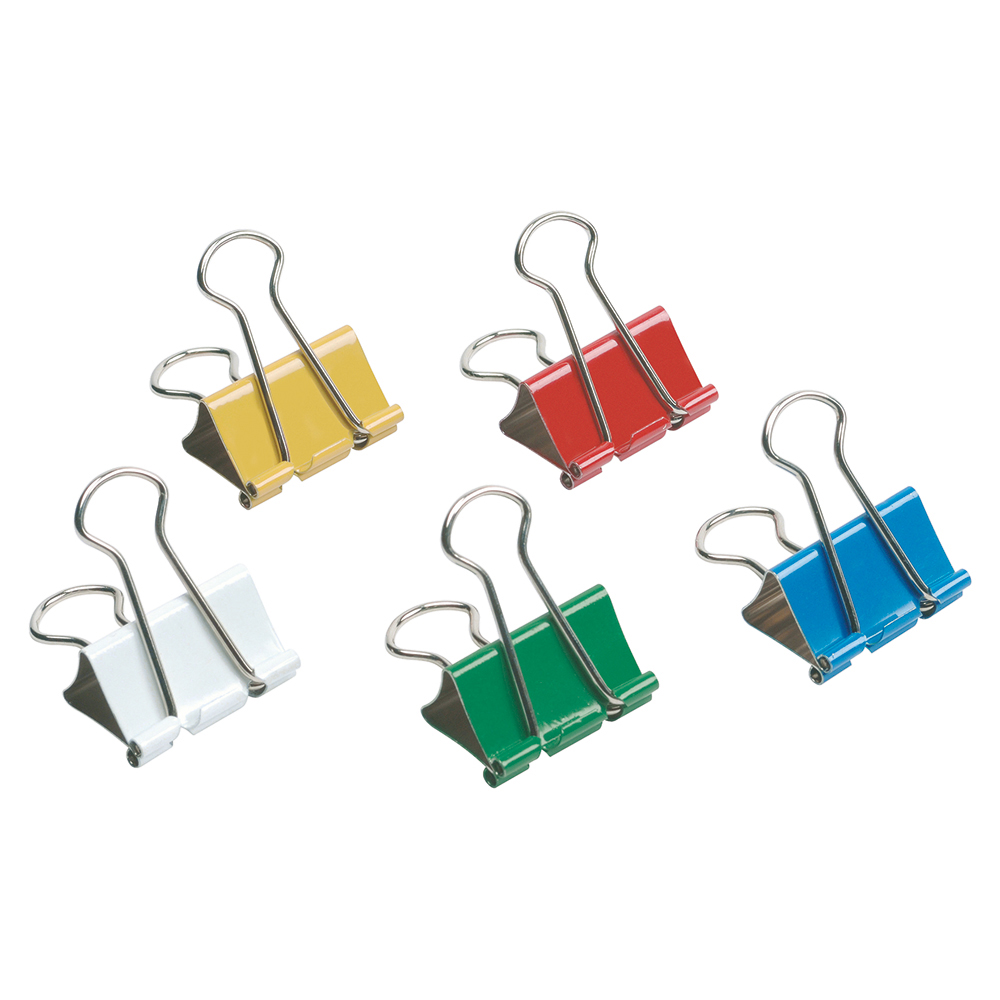 Business Foldback Clips 32mm Assorted (Pack of 12)