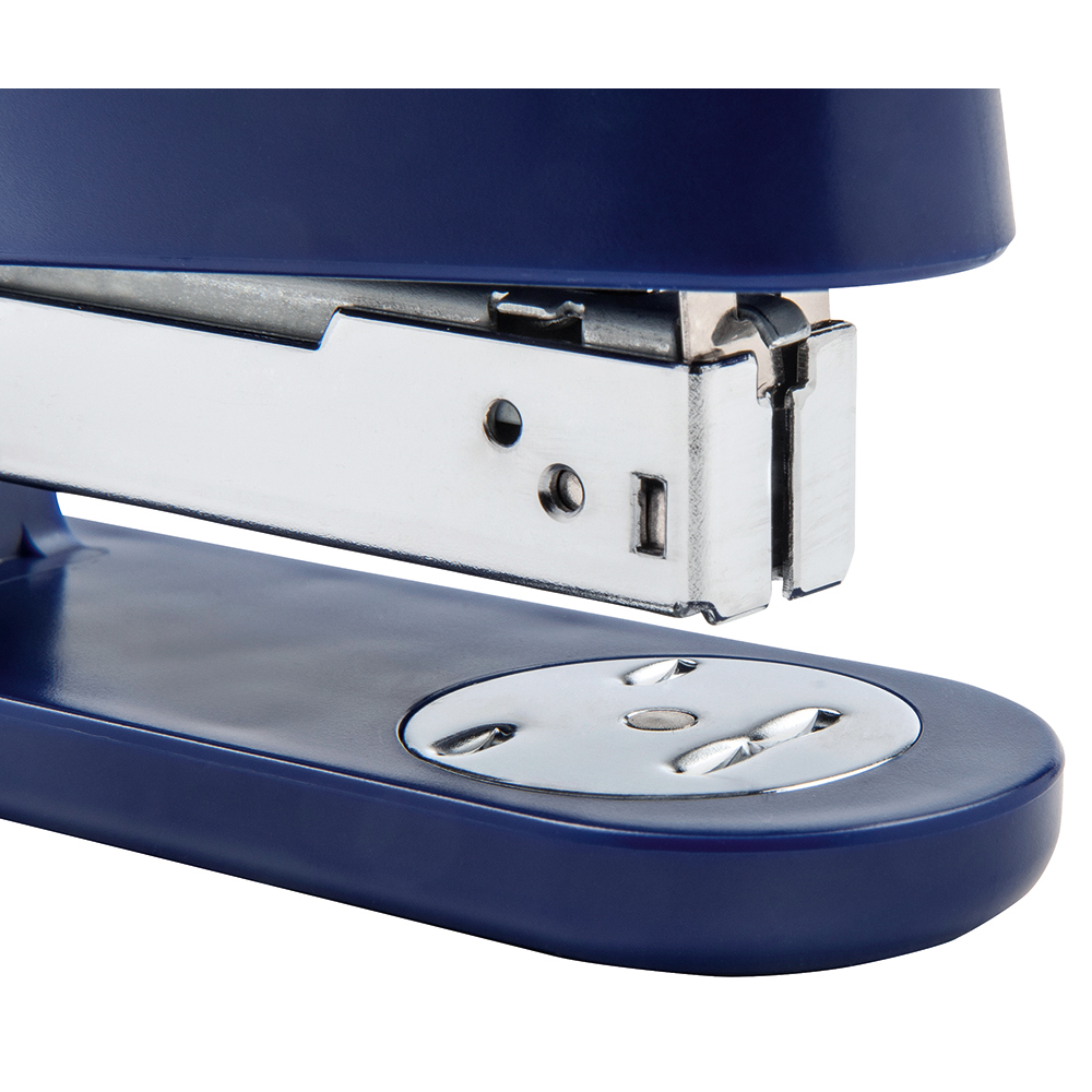 Business Stapler Half Strip Capacity 25 Sheets Blue (Pack of 1)