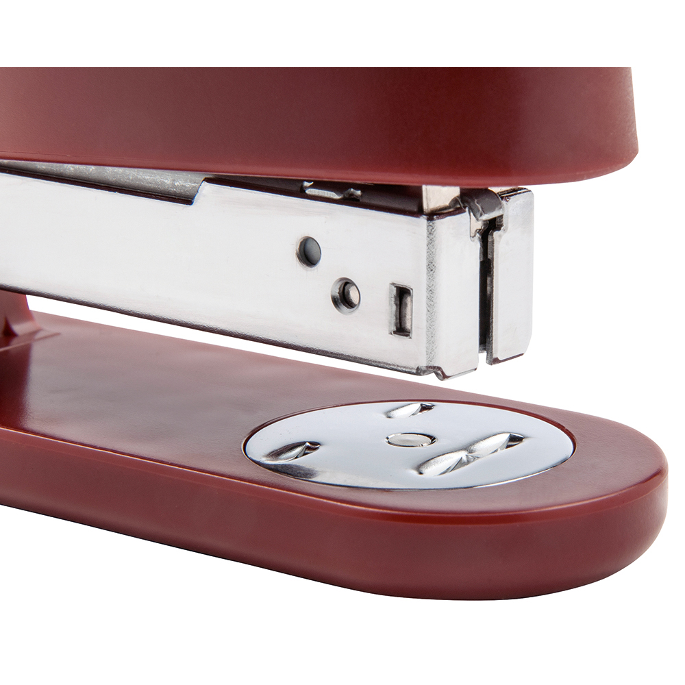 Business Stapler Half Strip Capacity 25 Sheets Red (Pack of 1)