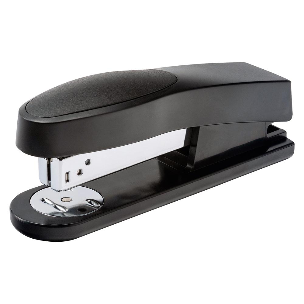Business Stapler Half Strip Capacity 25 Sheets Black (Pack of 1)