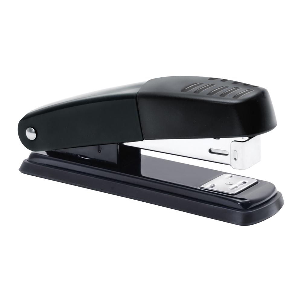 Business Metal Stapler Half Strip Capacity 20 Sheets Black (Pack of 1)