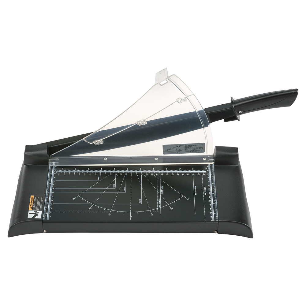 Business Paper Guillotine Cutter II 10 Sheet A4 Black (Pack of 1)