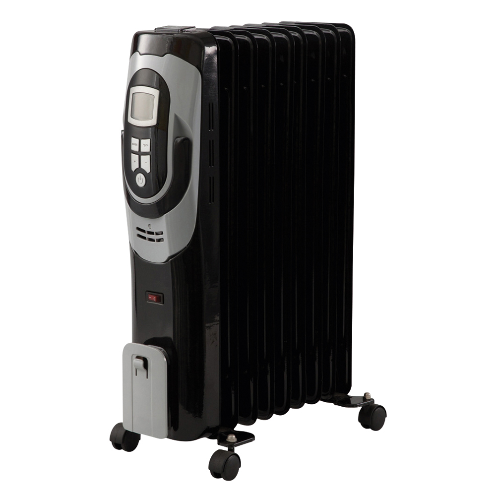Business Oil Filled Radiator with Digital Thermostat 3 Heat Settings (Pack of 1)