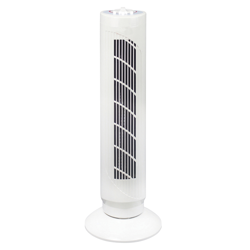 Business Oscillating Tower Fan with Timer 3 Speed 40w White (Pack of 1)