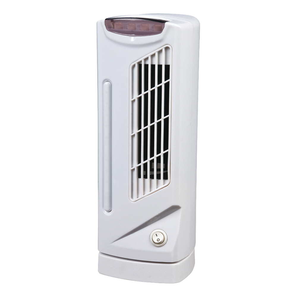 Business Facilities Mini Tower Fan 3-Speed 26 Watts H330mm White