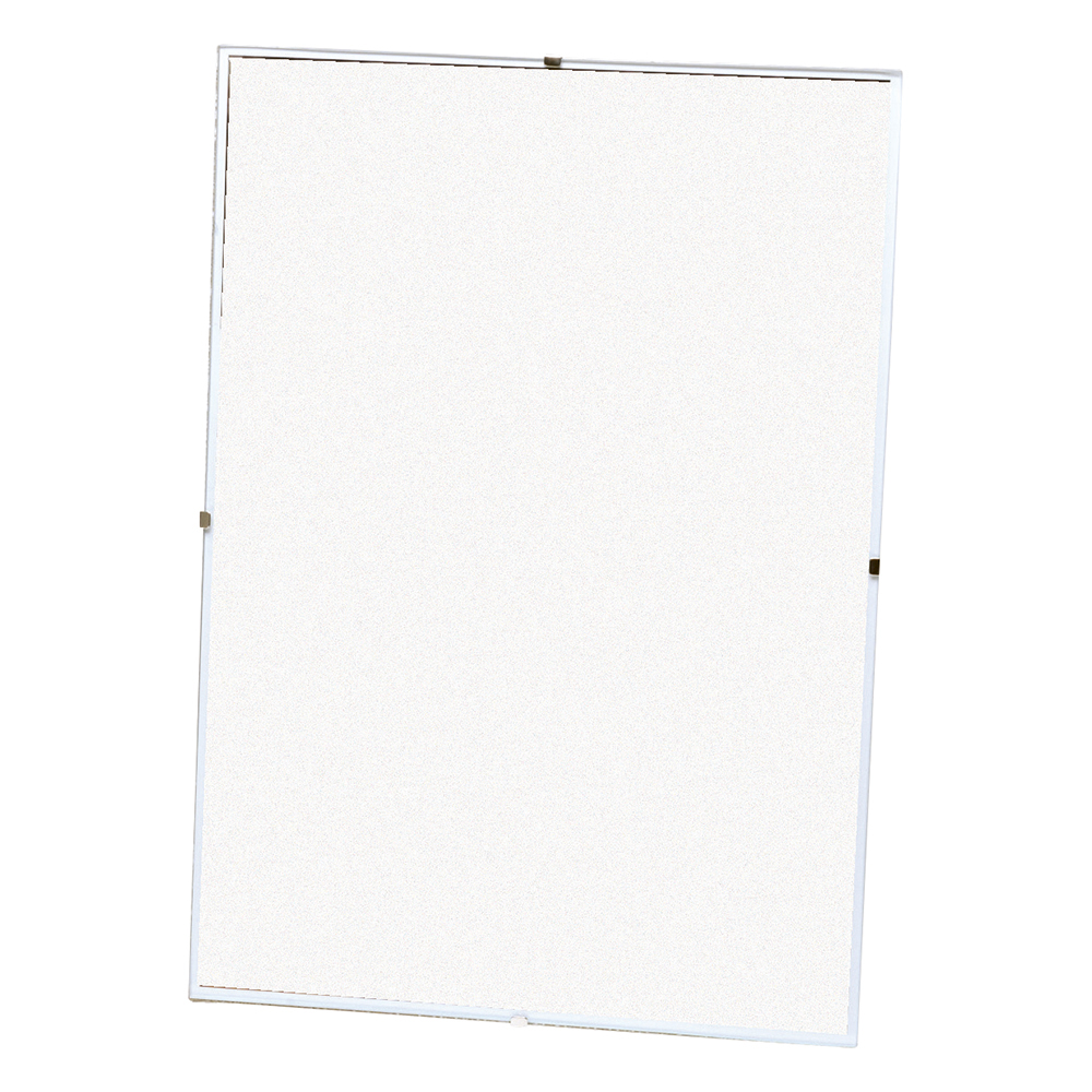 Business Office Clip Frame Plastic Front for Wall-mounting Back-loading A4 231x17x326mm Clear