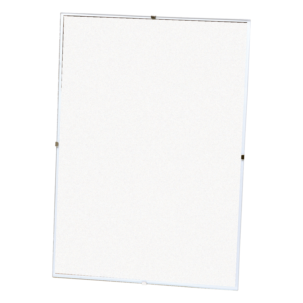 Business Office Clip Frame Plastic Front for Wall-mounting Back-loading Borderless A3 311x19x435mm Clear