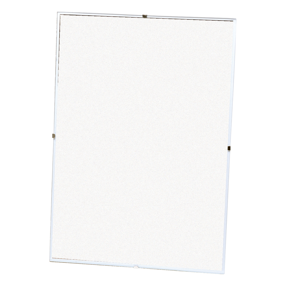 Business Office Clip Frame Plastic Front for Wall-mounting Back-loading A1 617x15x860mm Clear